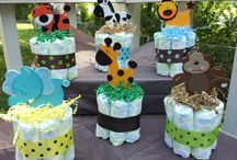 TORTAS DE PAÑALES/DIAPER BOUQUET/DIAPERS CAKE
