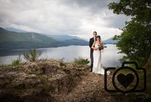 Bride and groom wedding photograpy