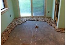 piso en madera