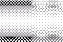 Monochrome Vector Patterns