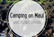 Camping on Maui