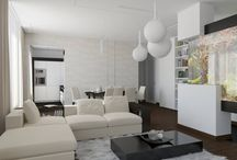 Apartment on Leninskiy Ave. in Moscow, Russia / Architects: Telemak ANANYAN, Gohar ISAKHANYAN, Anahit MKHCHYAN