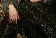 Peinture ( dentelles et bijoux )