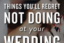 Wedding Tips / Great tips and checklists for brides-to-be planning for their wedding day
