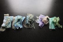 Silk dying