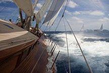 """Passion for Sailing / A ship in port is safe....but that is not what ships are built for! Das dachten wir uns auch.....und haben für unser Hirmer Sommerjournal, 3 Freunde auf einen Segeltörn in Südfrankreich geschickt....einige der dort entstandenen shoots sind auf dieser Pinnwand versteckt. Der Rest des Moodboards ist just """"pure passion for sailing""""....come on board!"""