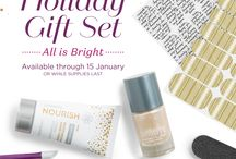 Make It a Very Jammin' Christmas! / Christmas 2015 with So Chic Nails, Jamberry Independent Consultant.  From holiday wraps to Christmas gift ideas - we've got you covered!
