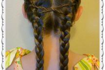 girls hair / by Megan Booth