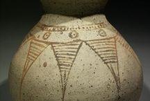 Iranian art artifacts / Iranian art - Iran bronze- Iranian pottery - Kerman - Chiraz - Shahdad - Bronze age - Persian bronze - Piravend - Persian bronze vessel