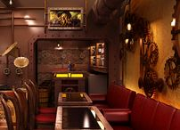 "FOR PROJECT INTERIOR DECORATION / IDEAS FOR AKTO PROJECT ""RESTAURANT BAR"""