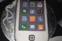 I phone cakes