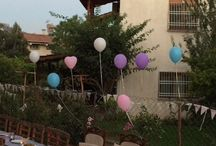 Engagement garden party