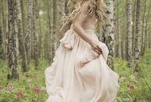 woodland wedding shoot