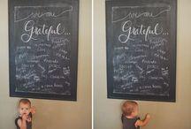 Chalk It Up to Good Taste / Ideas for Chalk Art