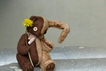 Мои теддики. My teddy bear art