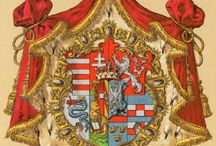 Almanach de Saxe Gotha - Duchy of Modena - House of Habsburg-Este / The Duchy of Modena, was a small Italian state that existed from 1452 to 1859, The Duchy was originally created for the Este family, who also ruled Ferrara until 1597. In 1796, the Duchy was occupied by the French army of Napoleon Bonaparte, who created the Cispadane Republic out of its territory. The last Este Duke died in 1803. Following his death, Modena was inherited by his son-in-law, Archduke Ferdinand of Austria-Este. http://www.almanachdegotha.org/id128.html