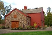 Barns / Unique barns and the setting.   / by Janice M. Brown