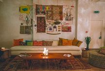 Bohemian Living Room theme / by Amy Stuppiello