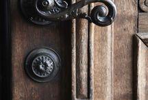 vintage doorhandles