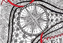 Drawing, Zentangles, Artistic expressions