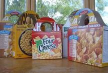 Cereal Boxes - reusing