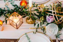 Table setting wedding