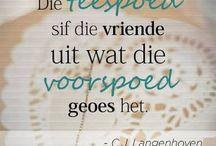 Afrikaans my ♡