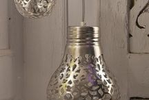 light bulb deco / by Lynda Moore