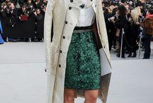 Fashion bloggers. / Those whom style I admire.