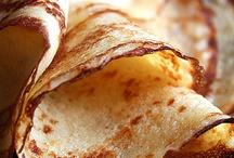 Desserts : Crepes, pancakes & waffles