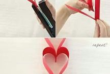 Cute & easy heart/valentine craft!