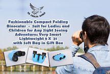 Compact Folding Binoculars