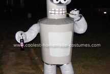 Futurama Bender Costume / Stay in touch on Facebook! https://www.facebook.com/maskerix/