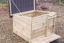 Duck and chicken coop