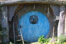 Hobbiton, The Shire. Matamata. NZ. / A great place to visit, just like being in the movie.