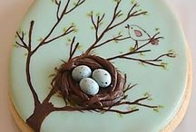 Filigree & Frost Easter Cookies