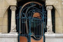 Hector Guimard / French architect / Art Nouveau