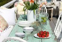 Outdoor Dining and Decor / ideas and projects for outdoor decorating and dining