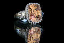 Simulated Diamond Champagne Ring