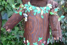 Disfraz de árbol