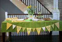 Green/Yellow Baby Shower