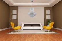 living room / Salon jedno z najważniejszych pomieszczeń w naszym domu. Spędzamy w nim 45% naszego czasu, kiedy znajdujemy się w domu.Oto kilka naszych propozycji na rozświetlenie swojego wnętrza