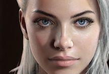 여성 얼굴