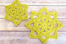 Doilies / Doily and crochet products and projects
