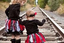 Darling little girl fashions