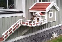 DIY Cat Houses
