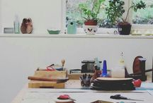 faerysteps workshop / where the magic happens
