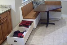 Kitchen bench seat
