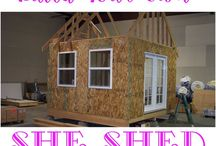 House - Framing, Roof and Shed Ideas