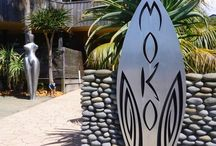 Moko Artspace at Hot Water Beach / Moko Artspace gallery and shop in Hot Water Beach, New Zealand. A MUST SEE, MUST VISIT, MUST EXPERIENCE! We LOVE New Zealand Art!